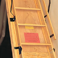 Wholesale Building Materials   American Stairways, Inc. Attic Stairs
